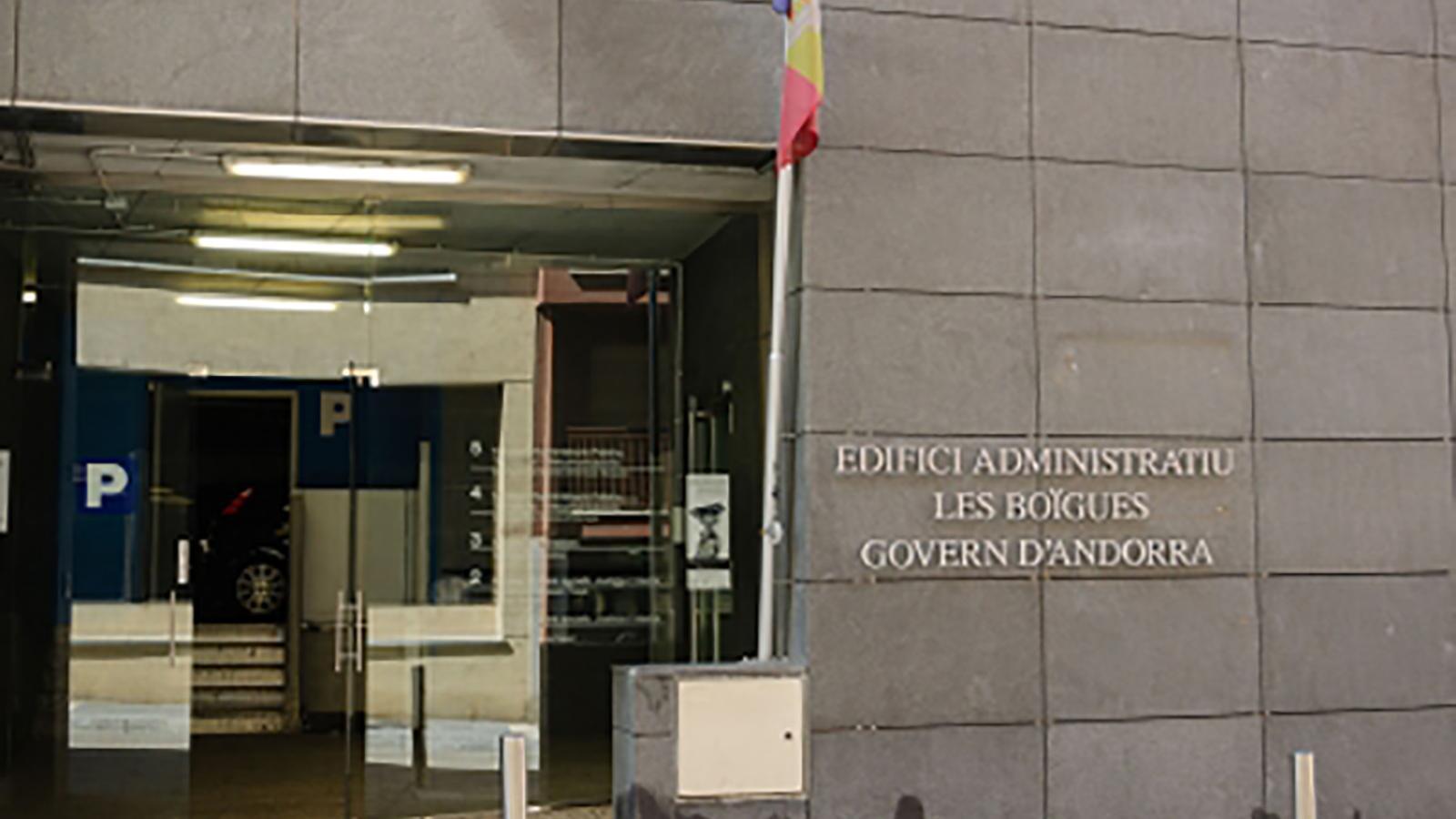 L'edifici de les Boïgues, on es troba el Servei d'Ocupació. / ARXIU ANA