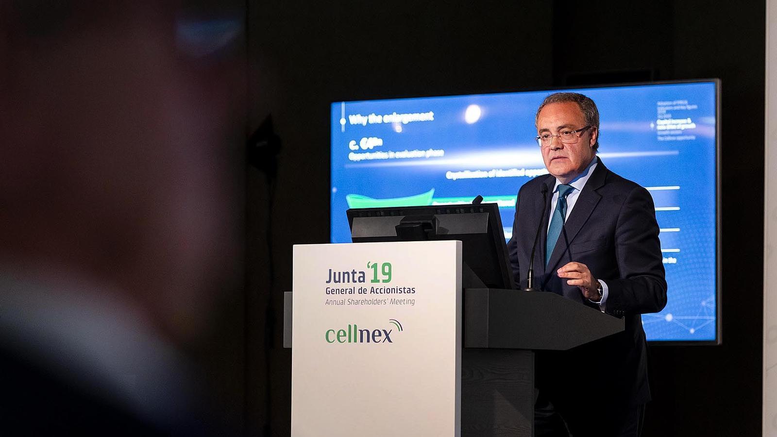 El conseller delegat de Cellnex, Tobías Martínez.