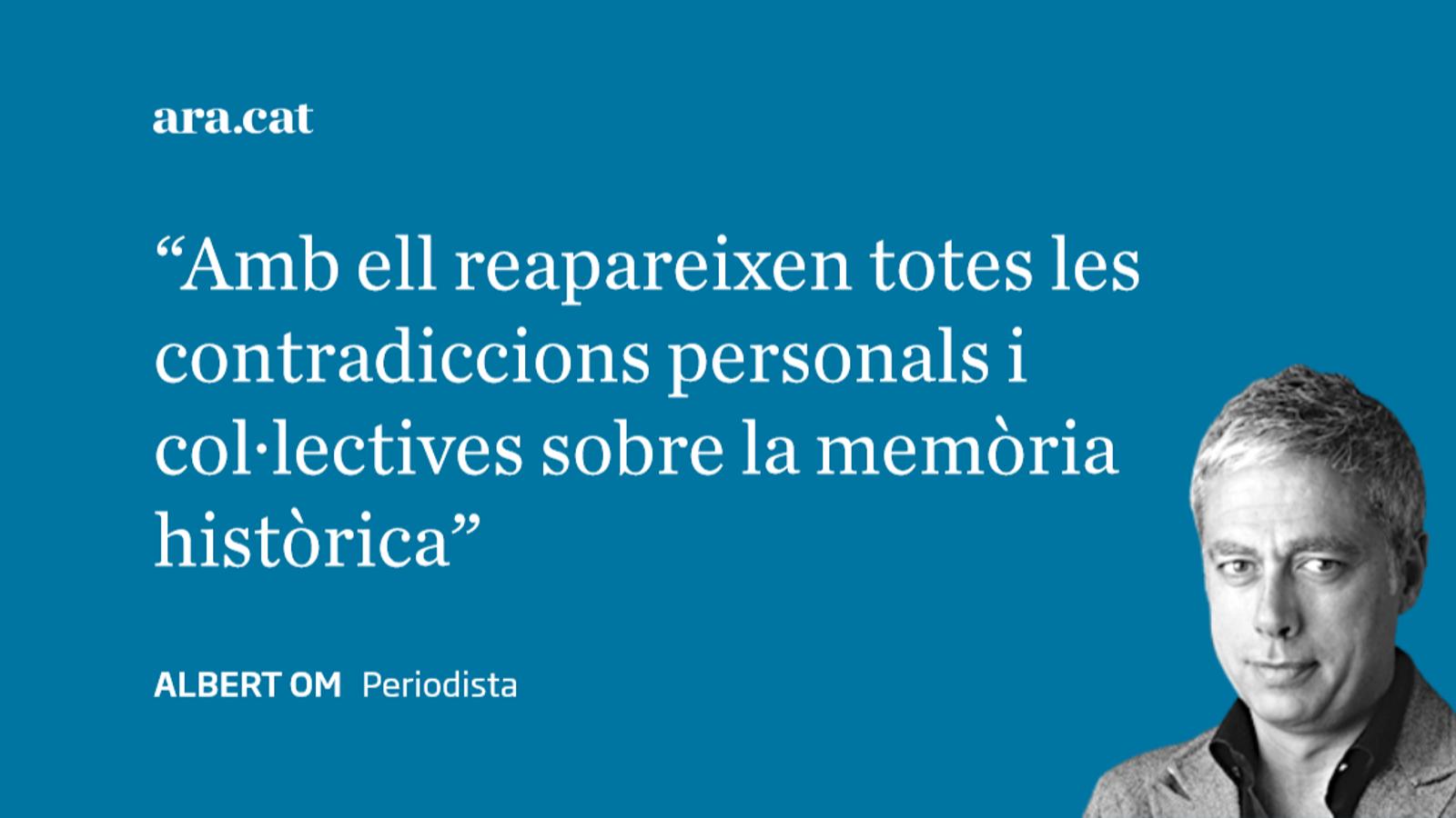 Carta a Josu Ternera: 'ETA, el franquisme i la memòria'