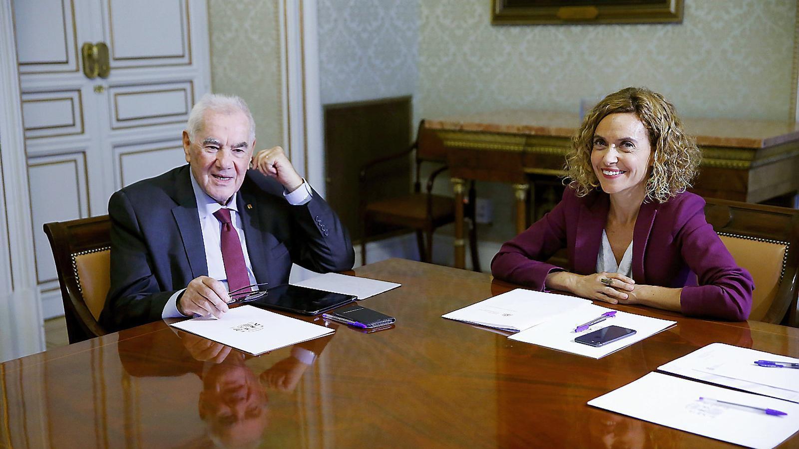 La Generalitat i l'Estat posen a prova el diàleg en la primera bilateral en 7 anys