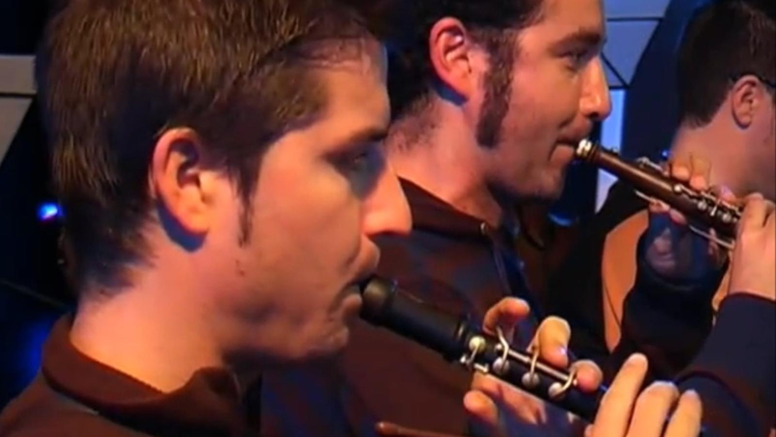 Els Badabadoc, enregistrant el disc inspirat en Francesc Pujols