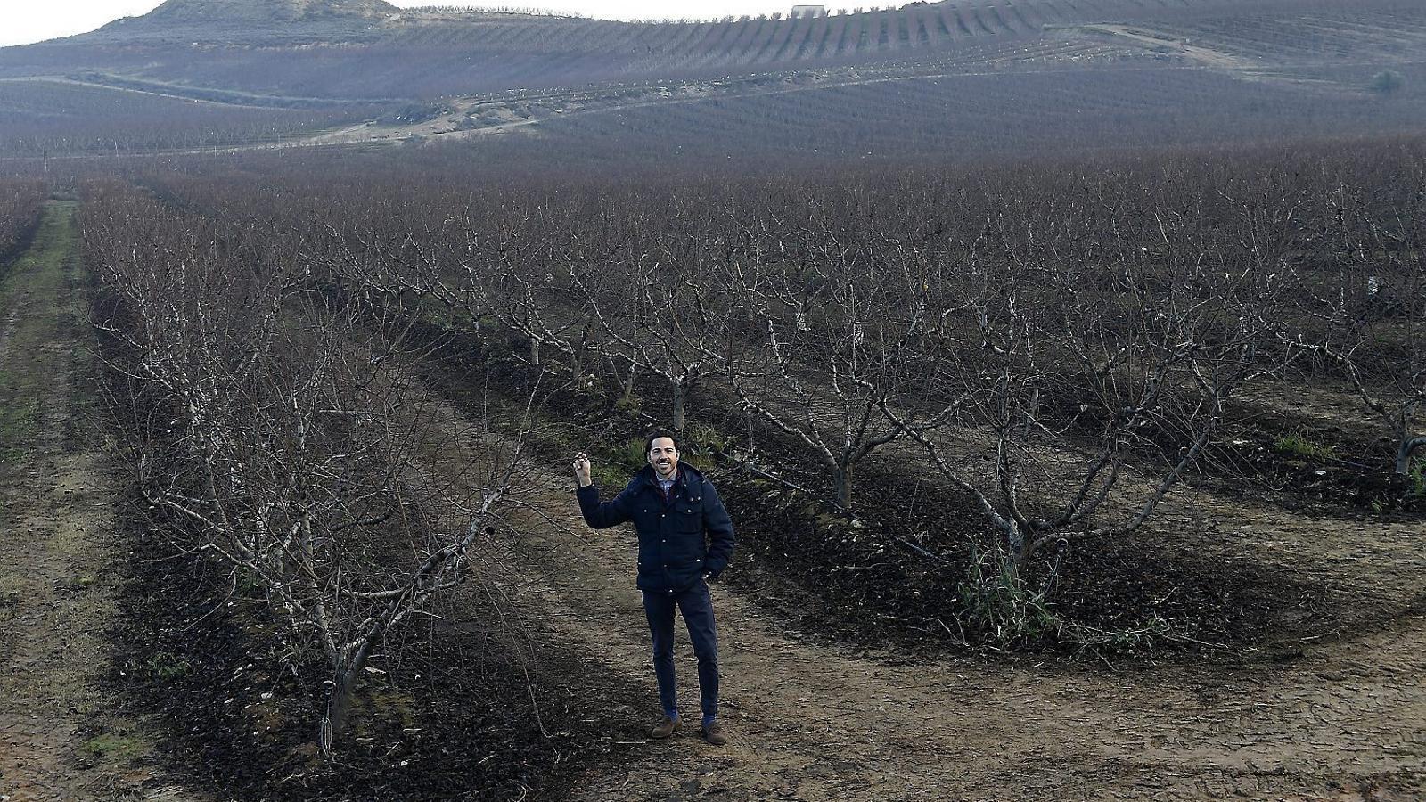 Els pagesos de Lleida celebren els efectes de la boira gebradora