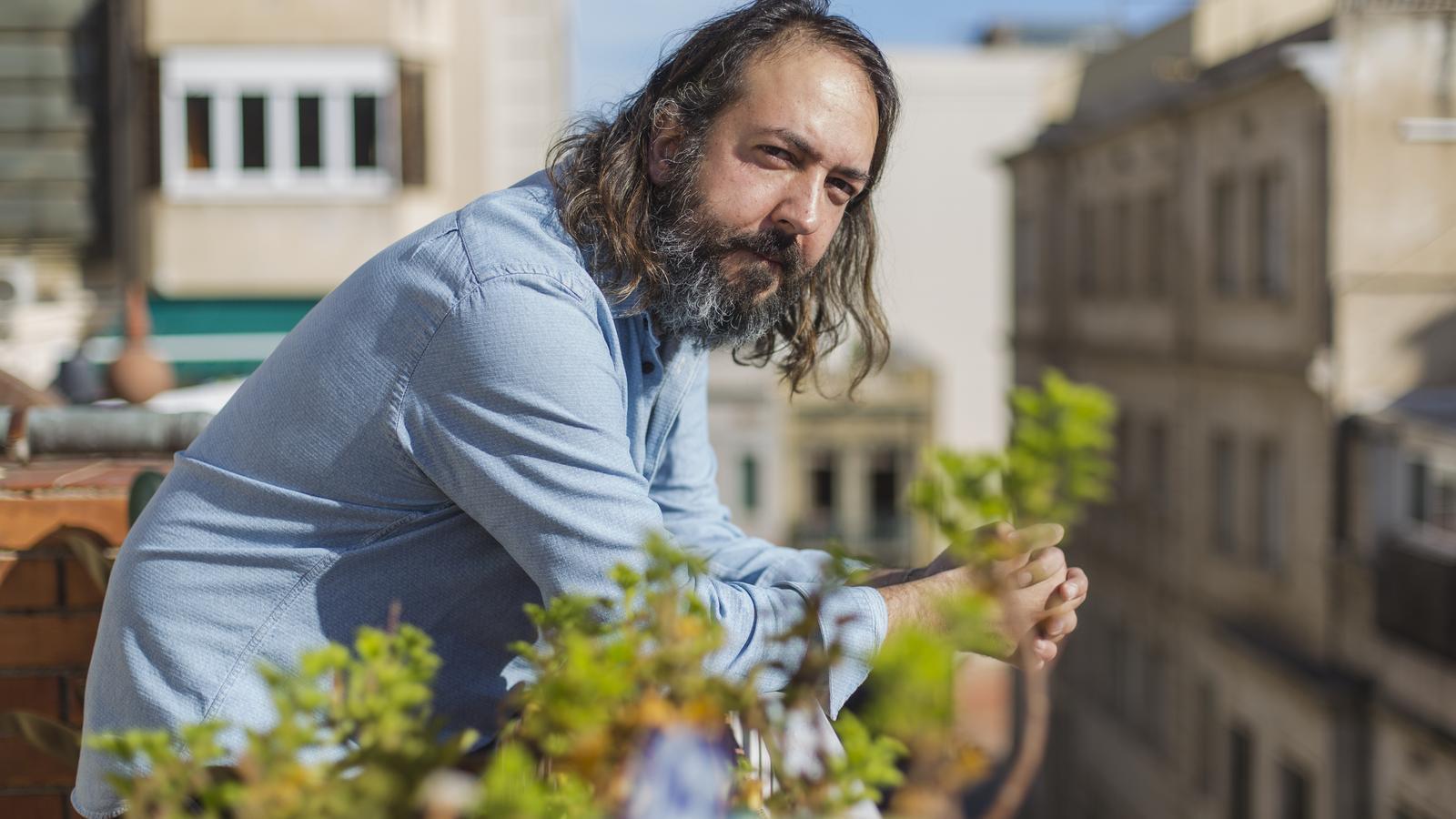 L'escriptor i periodista Andreu Gomila