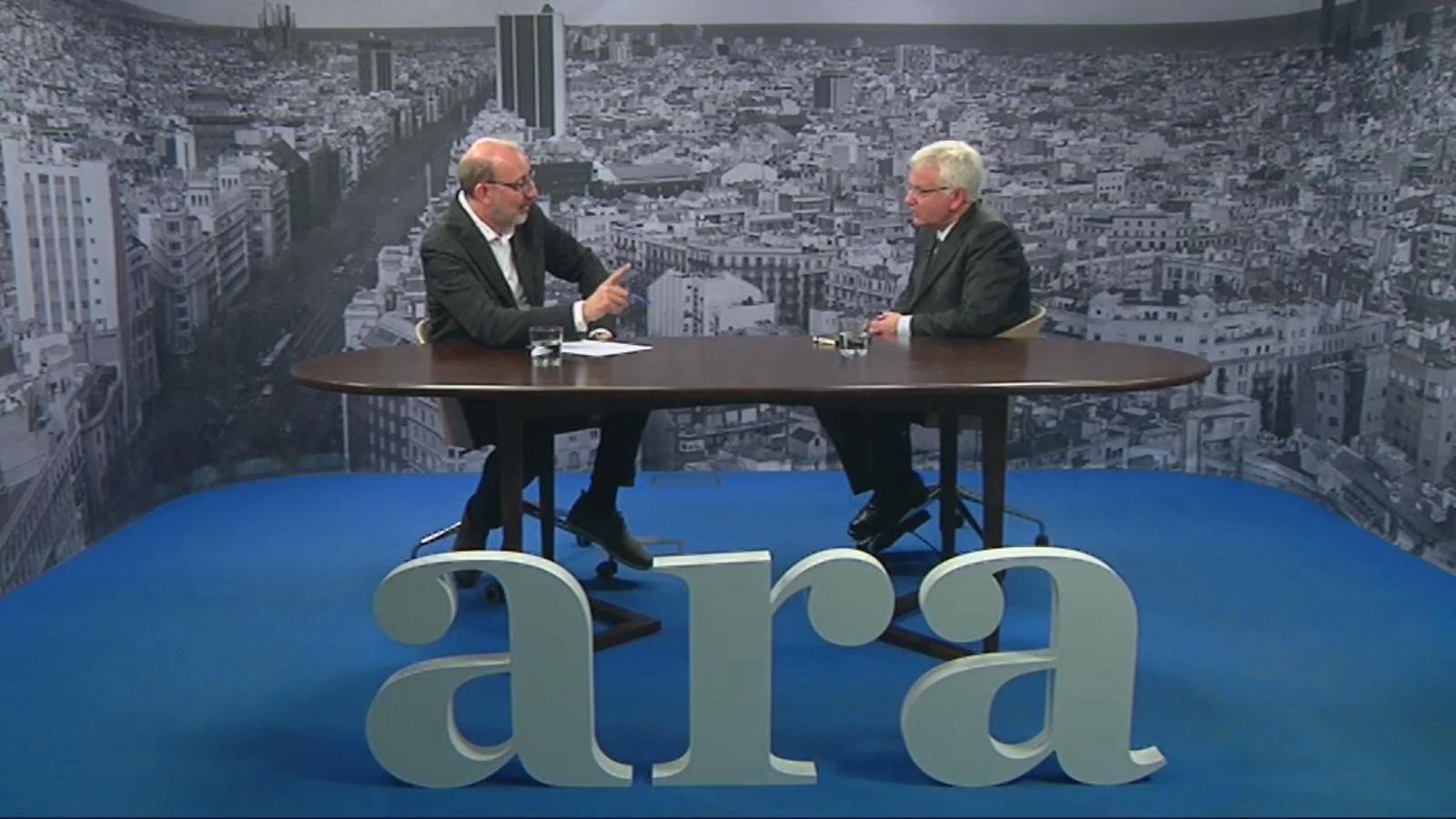Ferran Mascarell: Un estat no és plurinacional si hi ha un ministeri de Plurinacionalitat