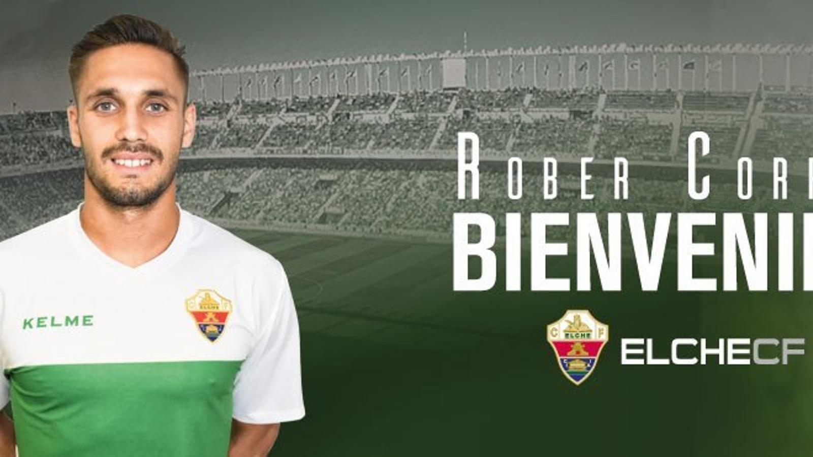 Rober Correa, cedit a l'Elx
