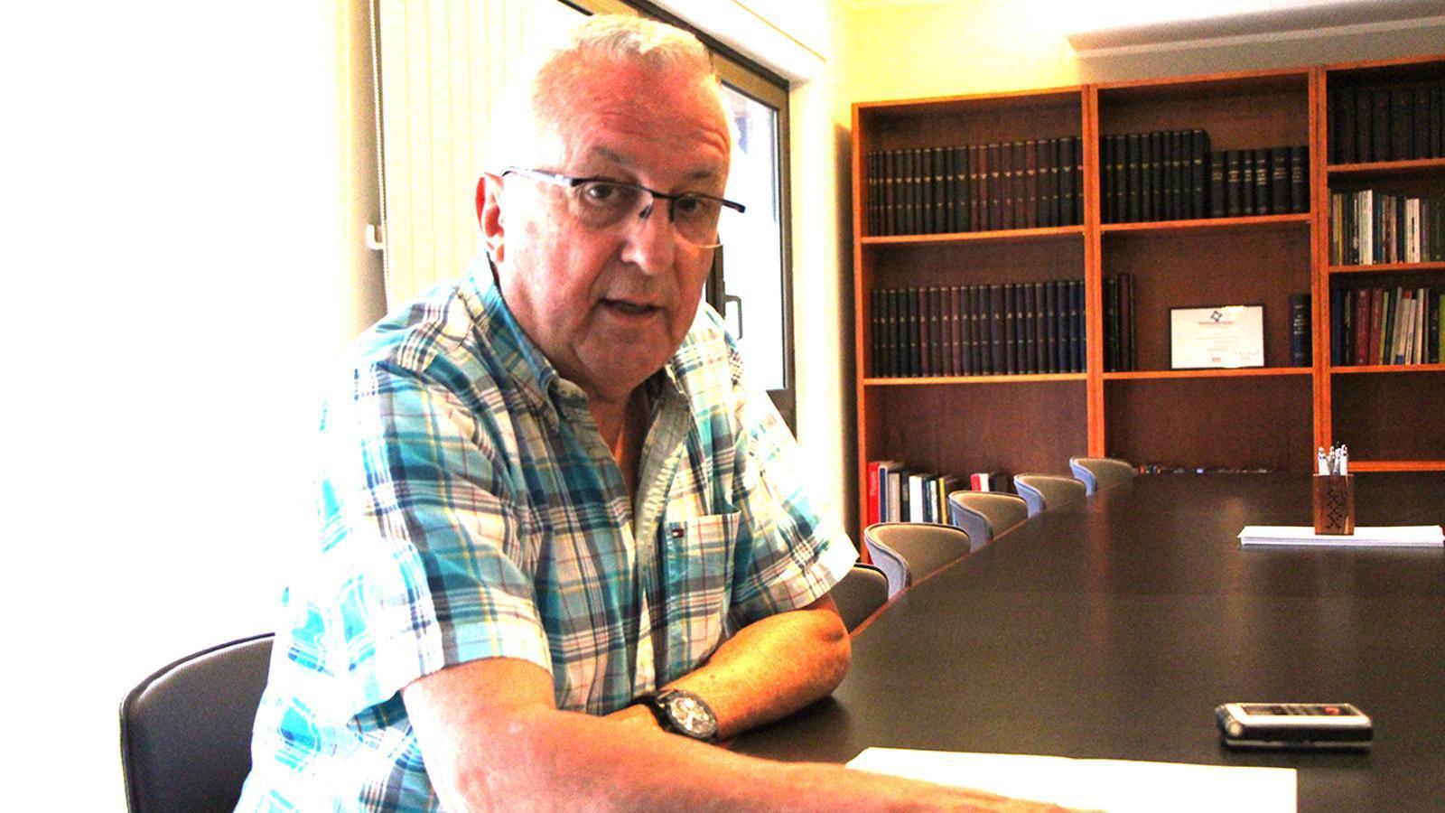 El president de la Cambra de Comerç, Miquel Armengol. / B. N.