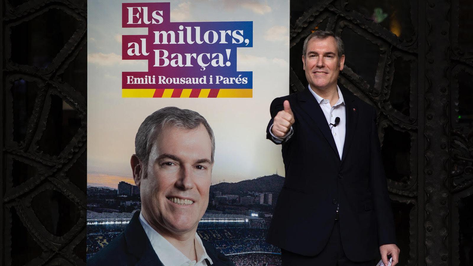 Emili Rousaud, precandidat a la presidència del Barça