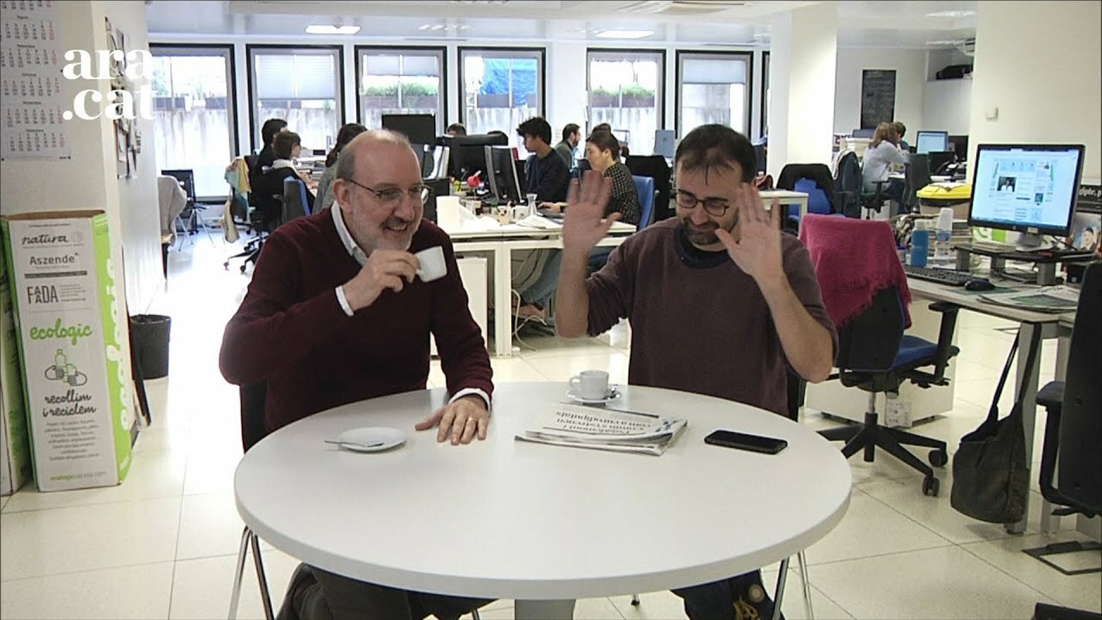 """El cafè de la Lliga: """"Els jugadors han deixat caure Valverde"""""""