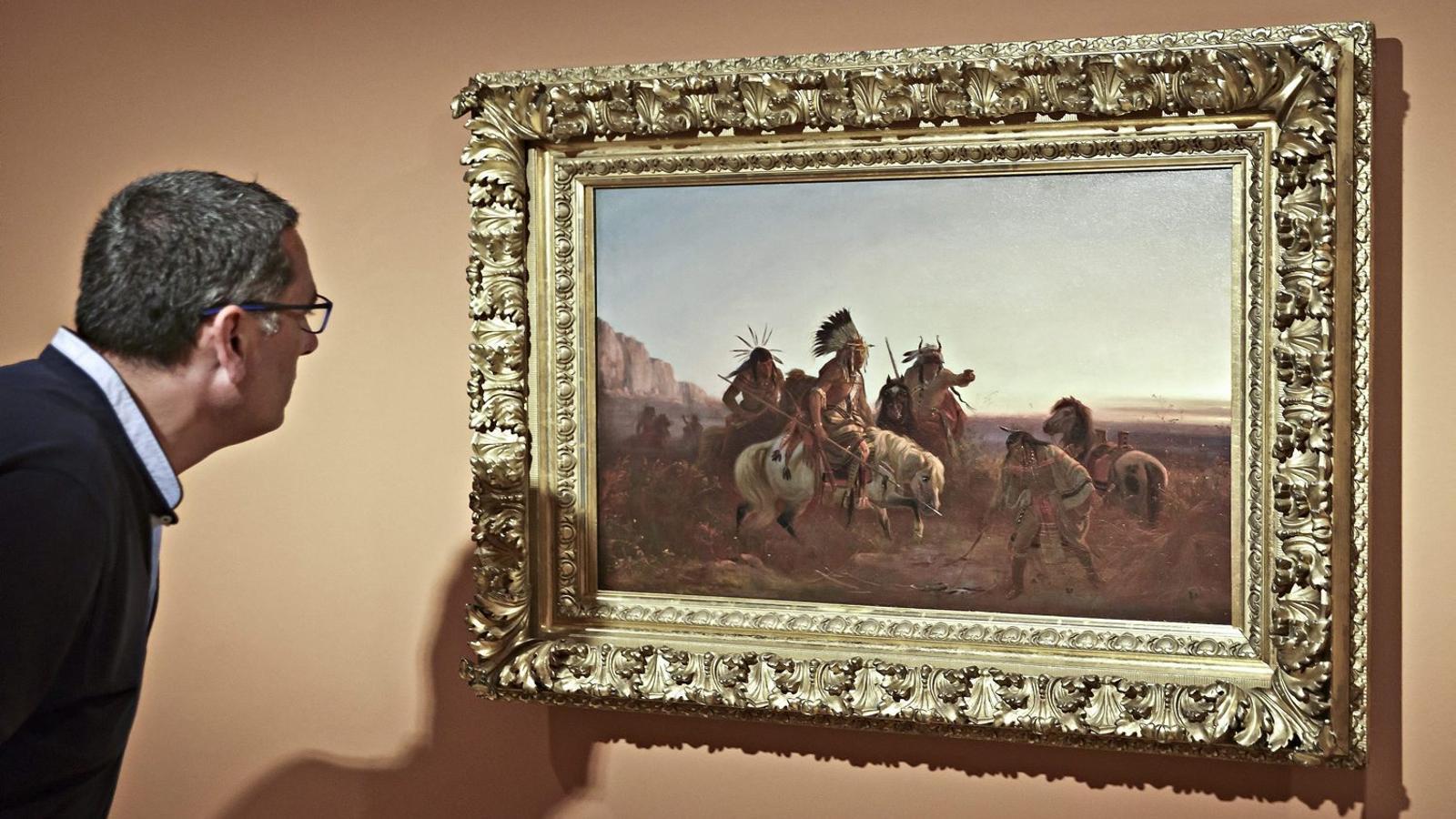 La baronessa Thyssen s'emportarà a Sant Feliu de Guíxols tot l'art que té al MNAC