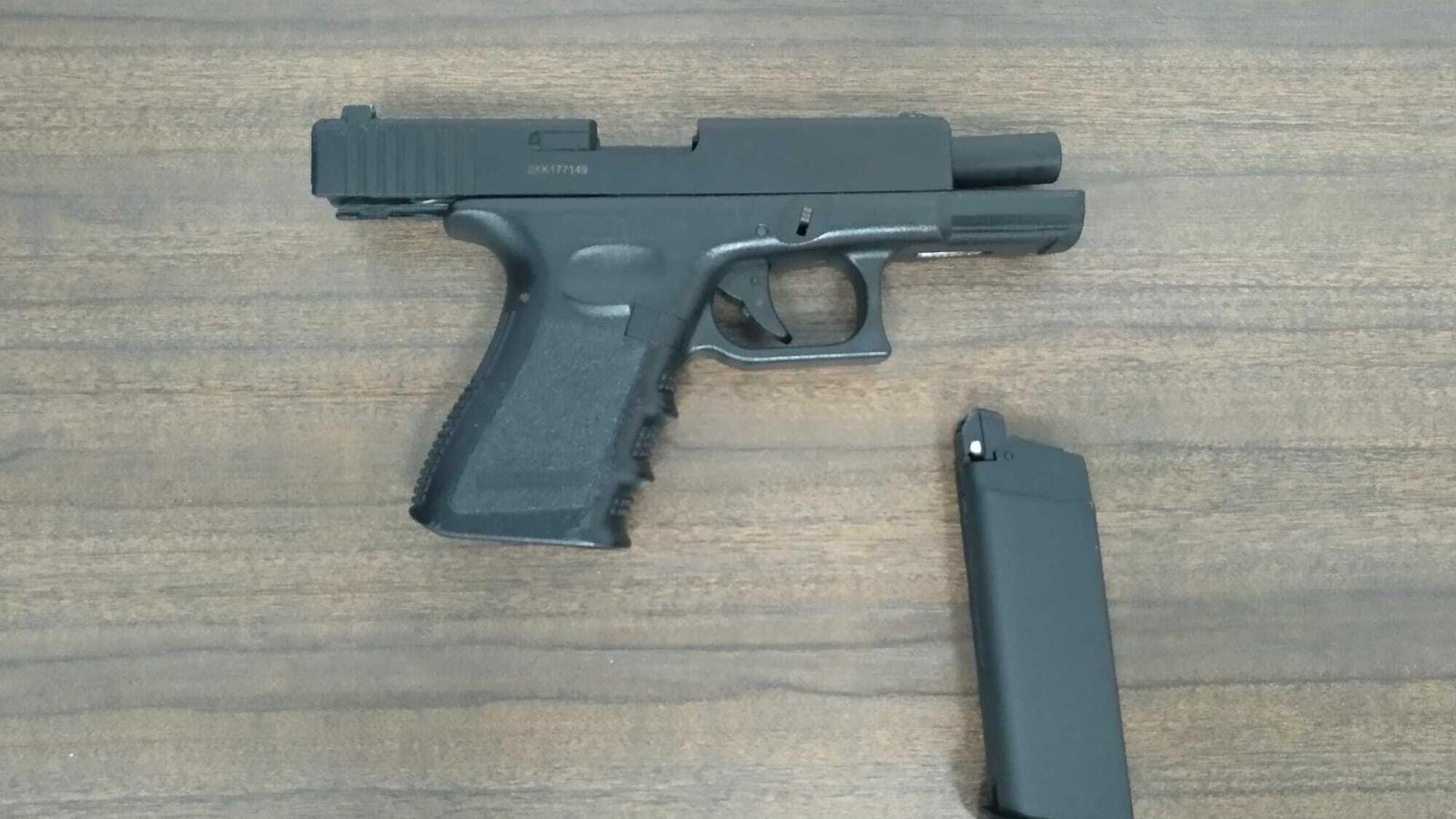 Detenen un jove a Palma per amenaces greus amb una arma simulada