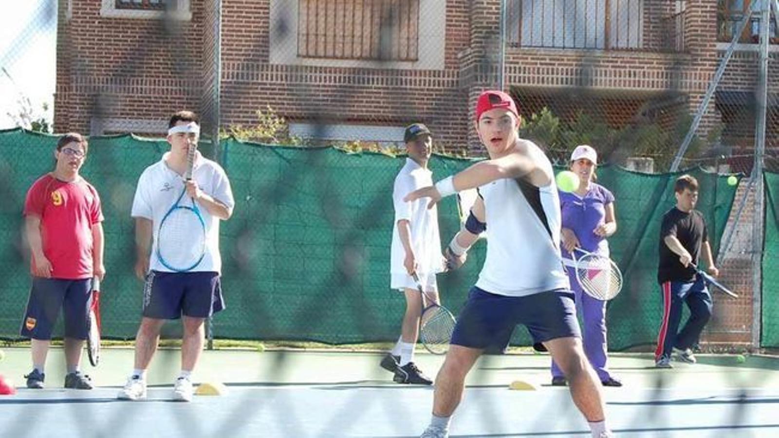 Més que Tennis, un torneig de la Fundació Rafa Nadal per a persones amb discapacitat intel·lectual