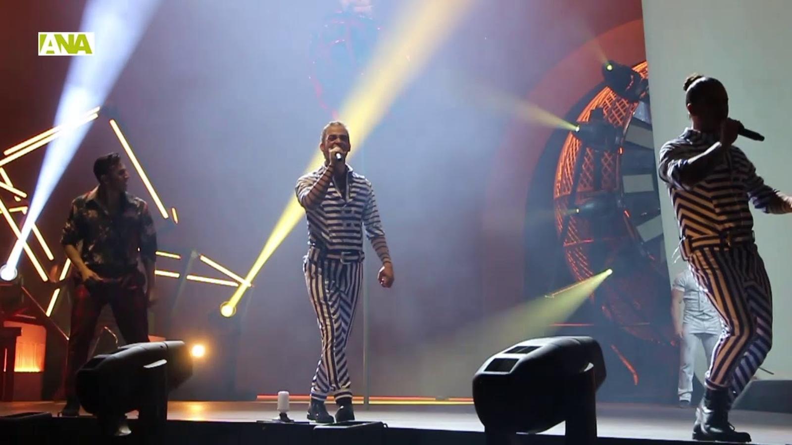 Així ha estat l'estrena de 'Rebel', la nova aposta del Cirque du Soleil per Andorra