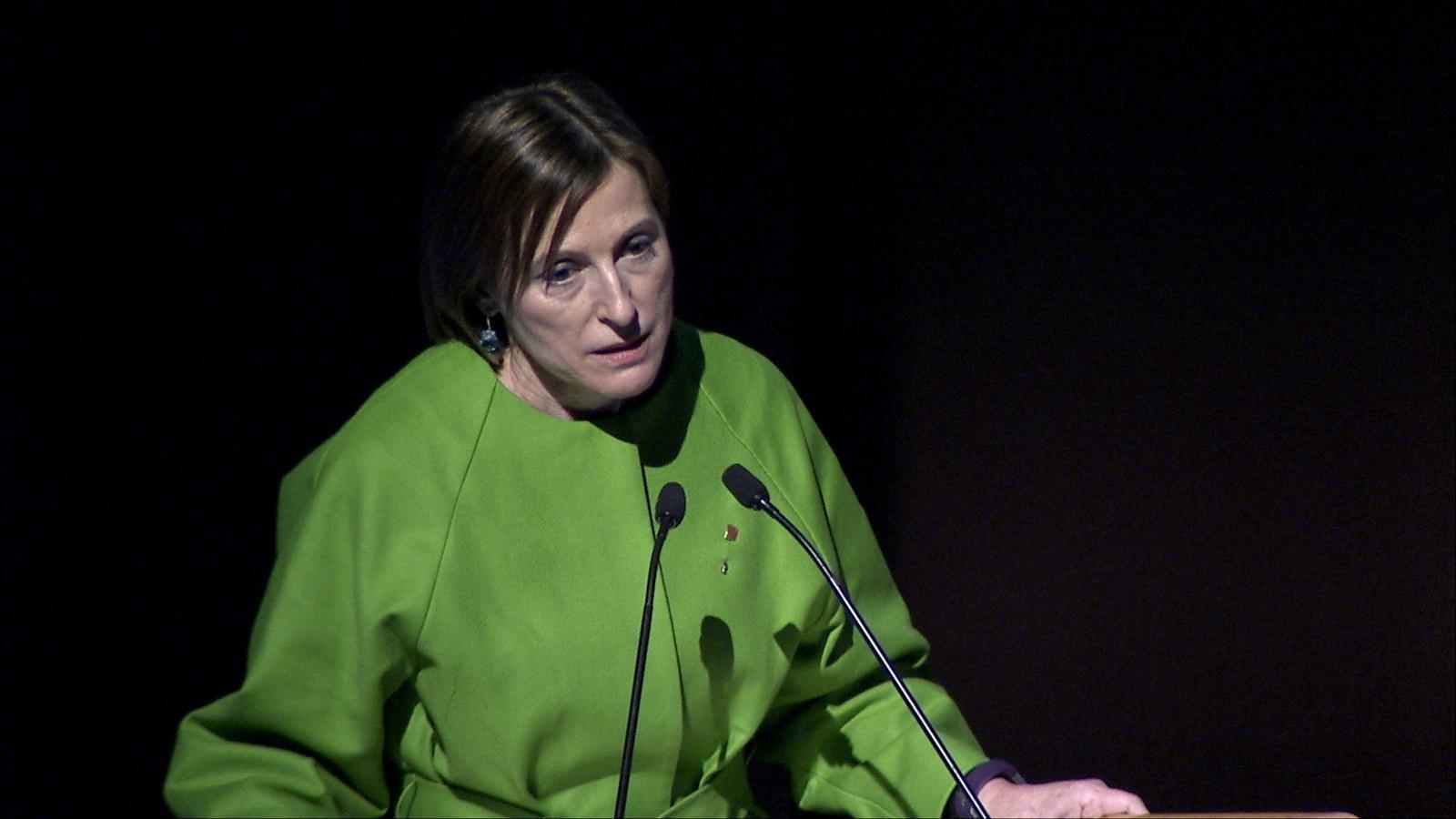 El discurs de Carme Forcadell a la nit de l'ARA