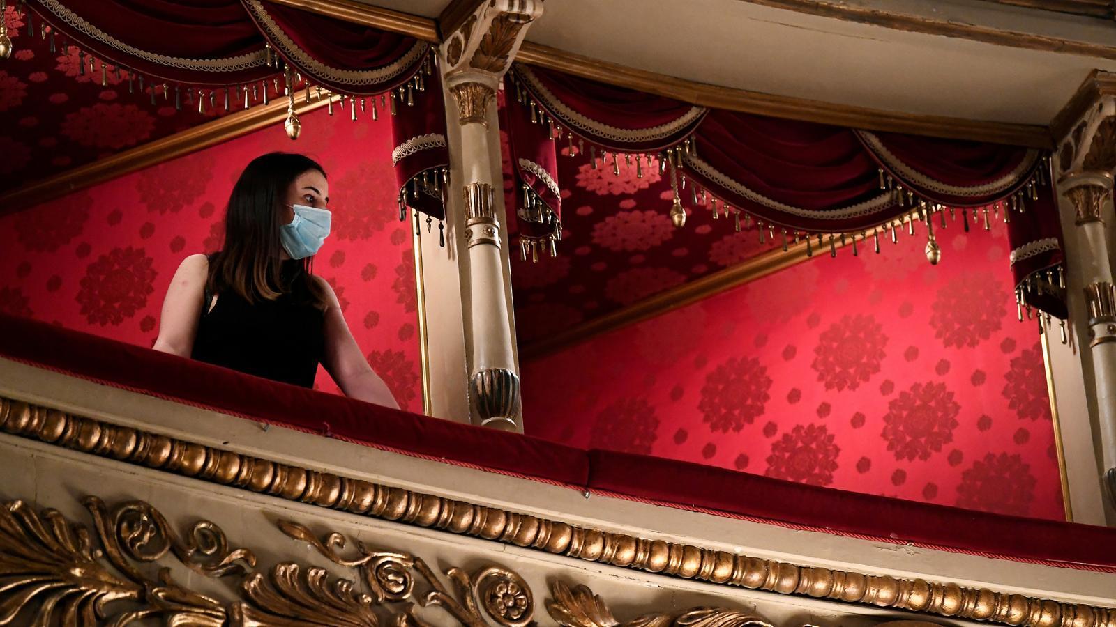El teatre de l'òpera l'Scala de Milà va reobrir el 21 de juny.