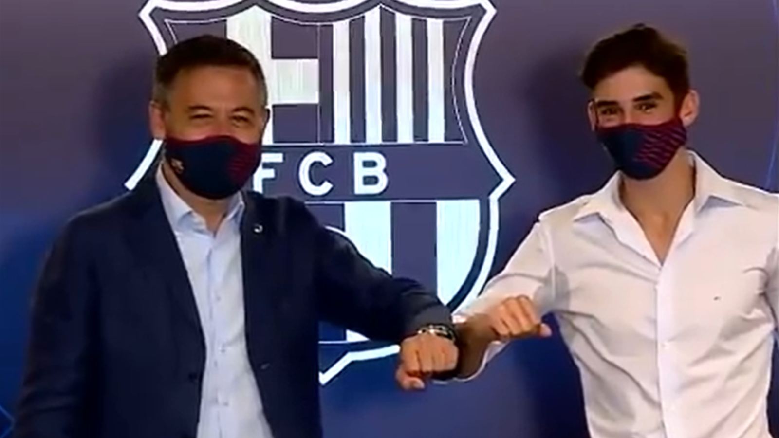 El Barça presenta Trincão