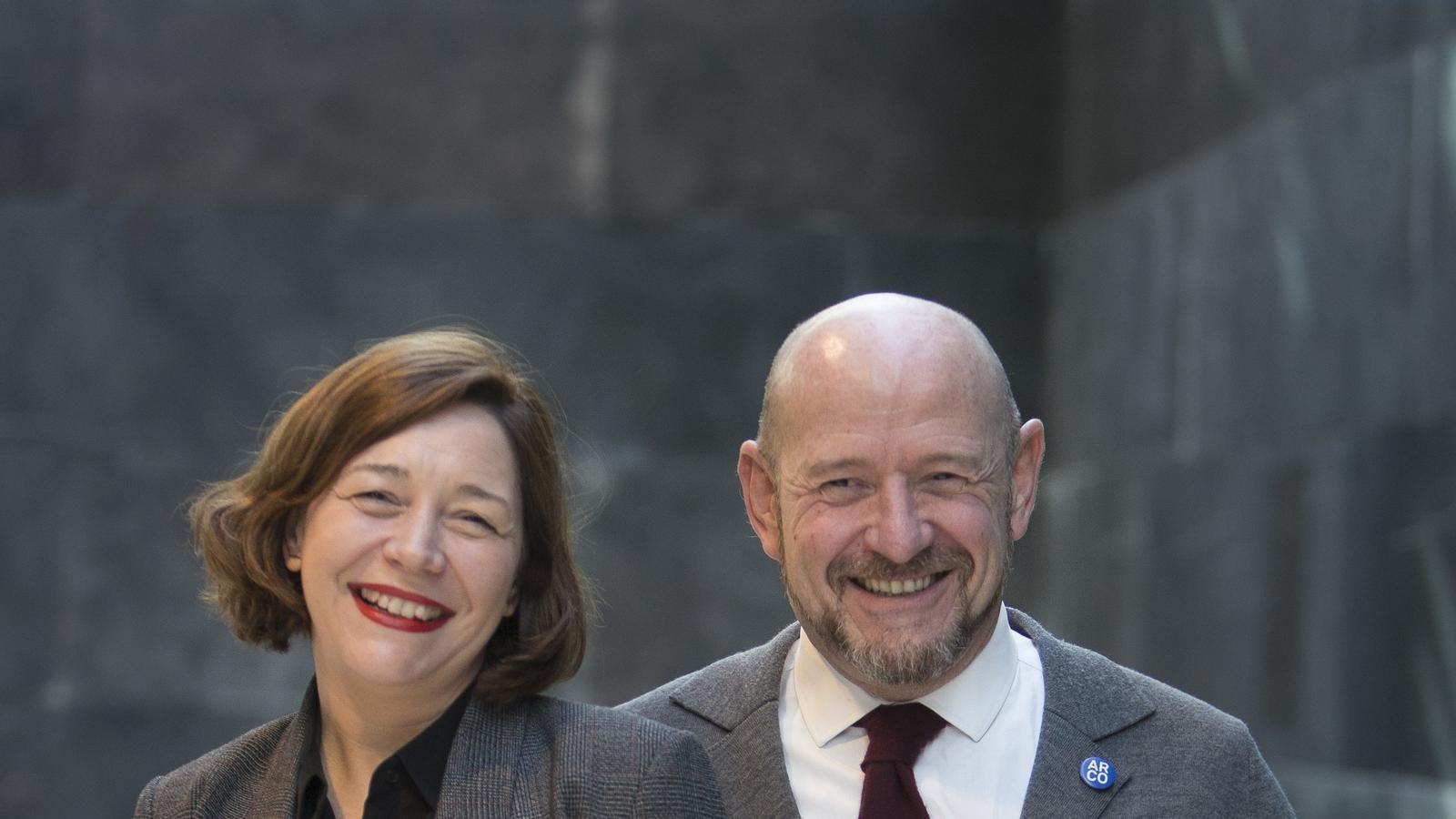 Maribel López i Carlos Urroz