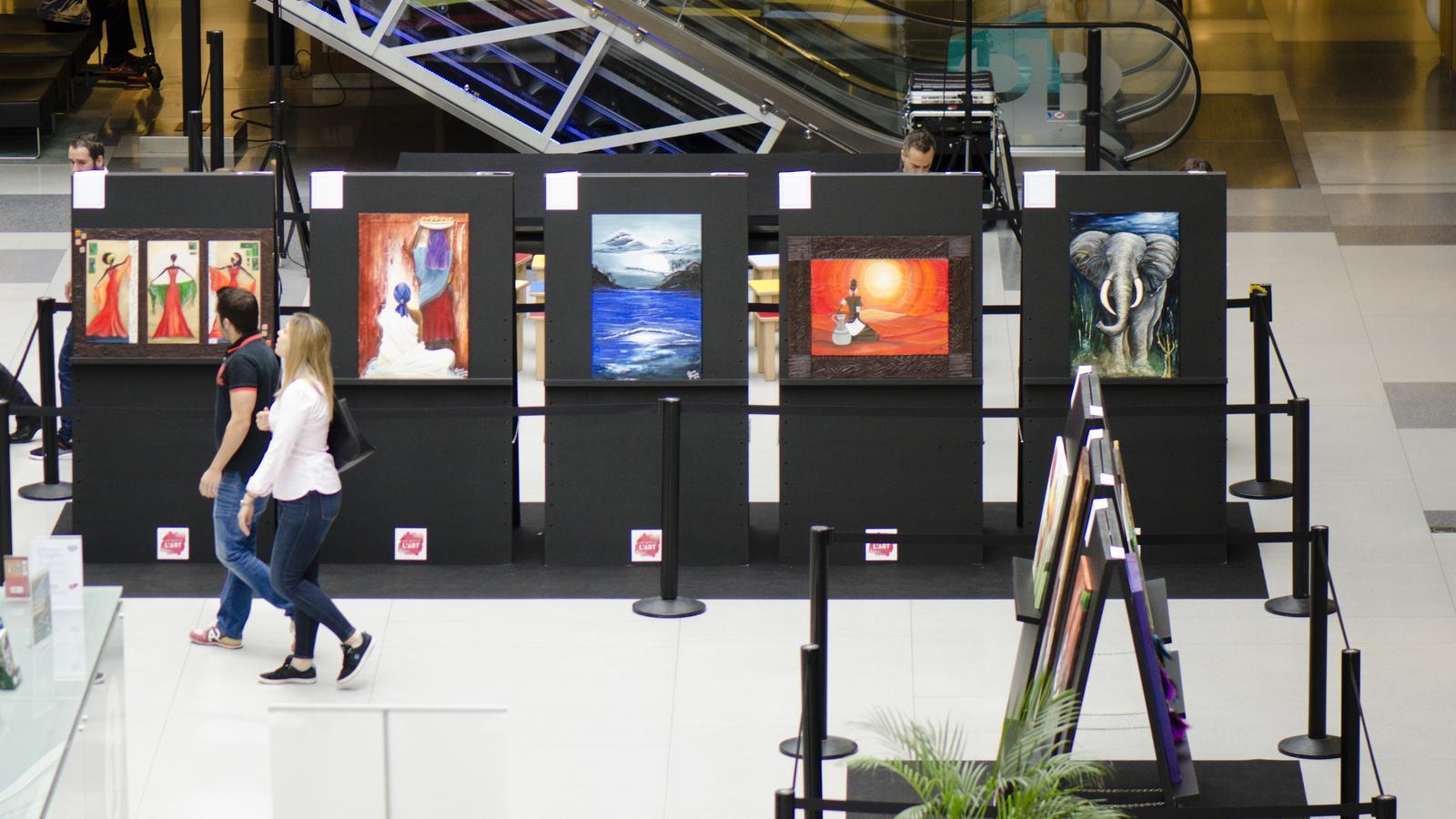 L'exposició que s'ha inaugurat aquest dilluns. / ILLA CARLEMANY