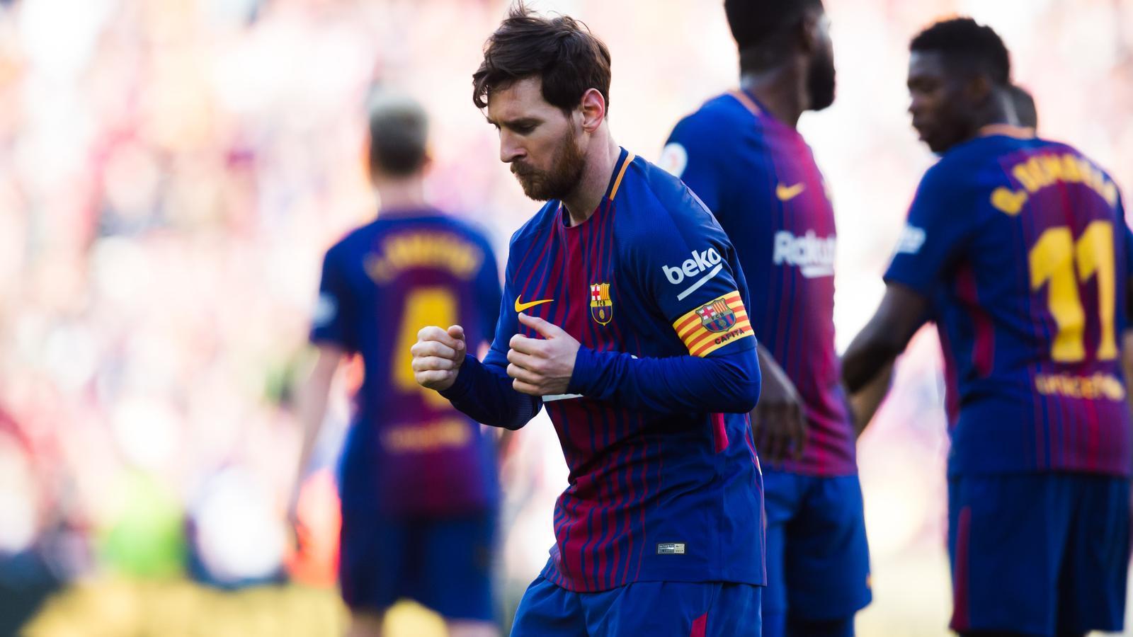 Un Barça trapella camina cap al títol teixint complicitats (2-0)