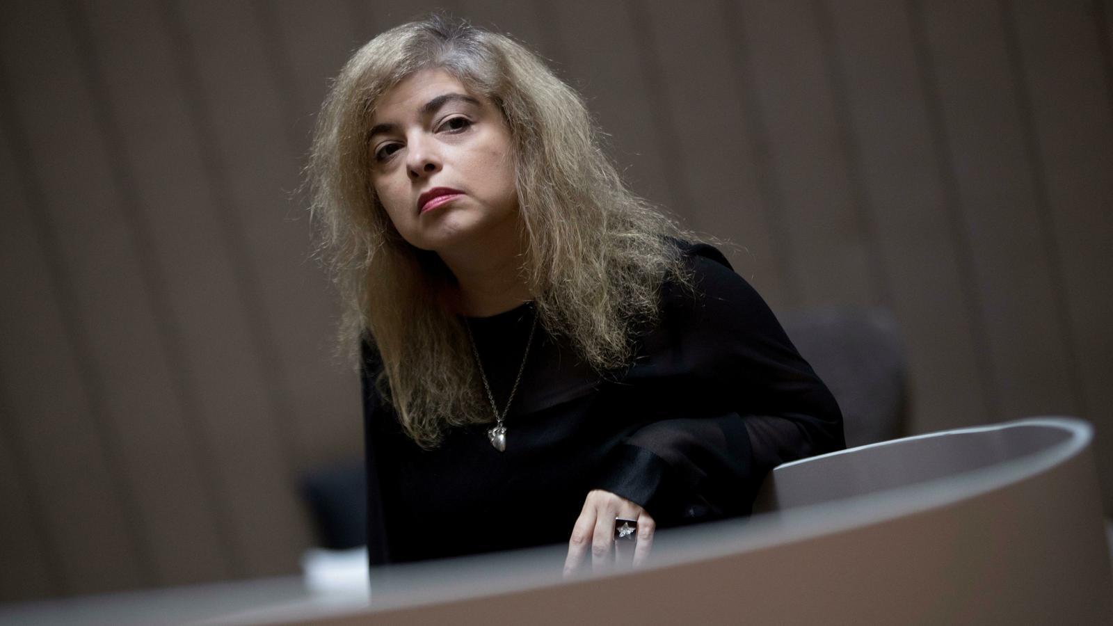 Mariana Enríquez, aquest dilluns a Barcelona