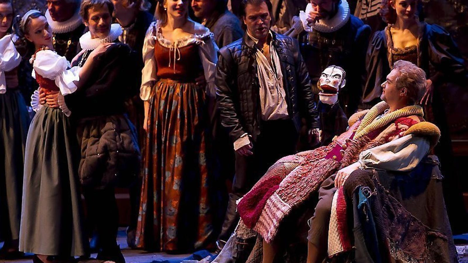 'Rigoletto', obra de Verdi representada a La Bastille de París .