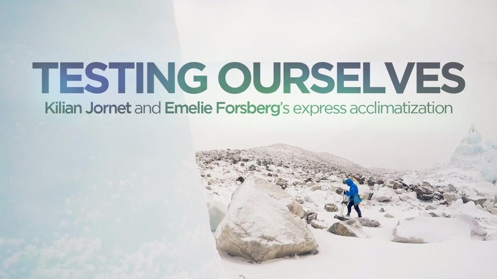 Així es van preparar Kilian Jornet i Emelie Forsberg per ascendir un cim de més de 8.000 metres