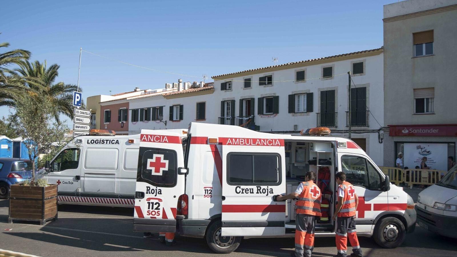Els serveis sanitaris han tingut un dia amb molta feina a les festes de Sant Climent.