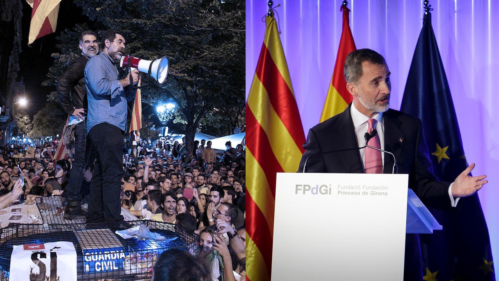 L'anàlisi d'Antoni Bassas: 'Del reportatge de Roures al discurs del rei Felip a Girona'