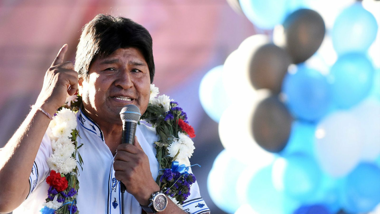 Evo Morales  s'enfronta al seu  mal d'altura