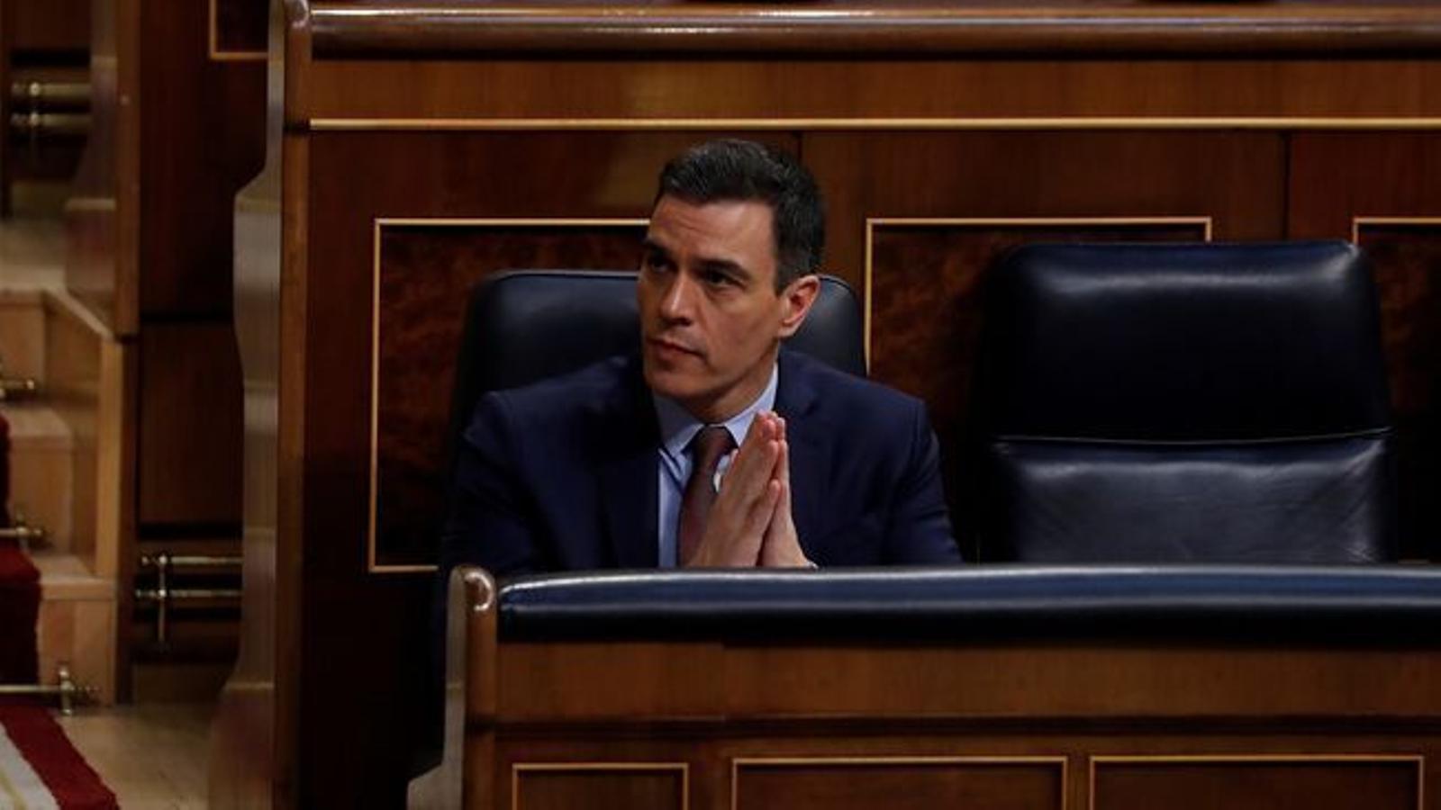 El president del govern espanyol, Pedro Sánchez, en una imatge d'arxiu.