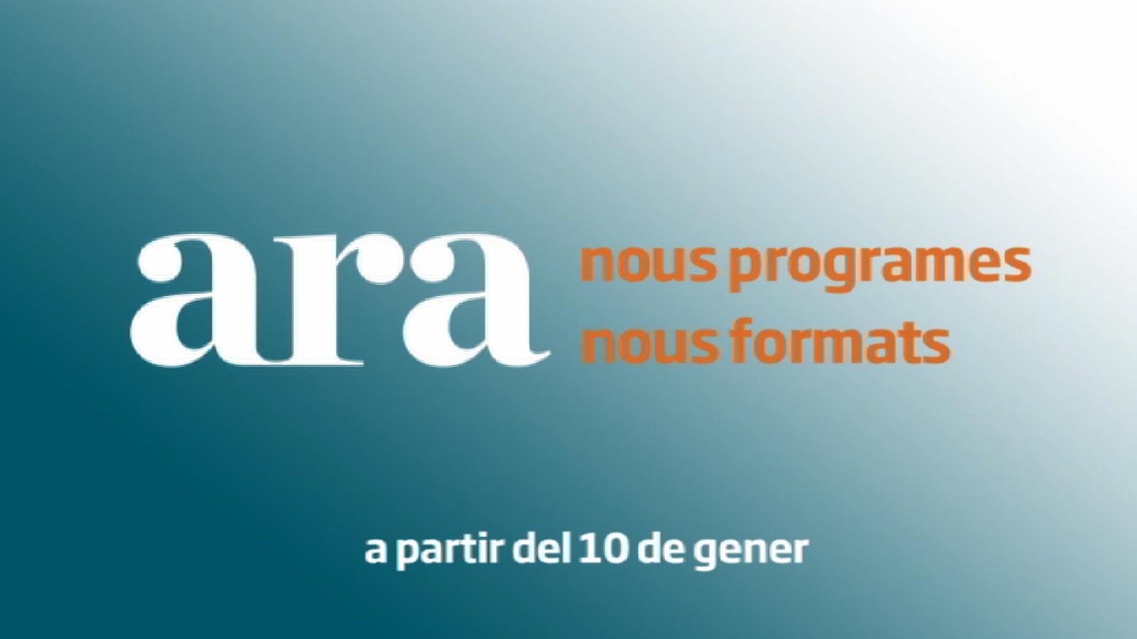 ARA nous programes