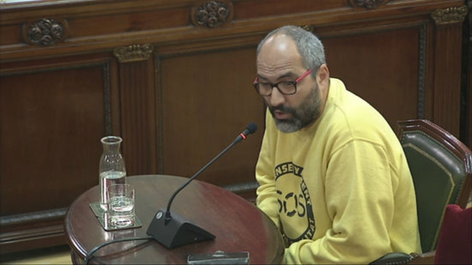 La defensa de Cuixart desplega  la seva estratègia malgrat Marchena