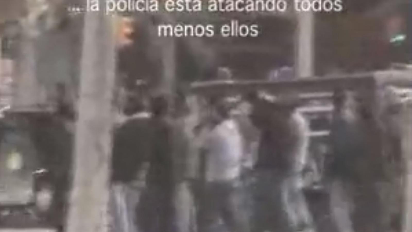 Vídeo d'infiltrats de la Policia Nacional l'any 2007 a Barcelona