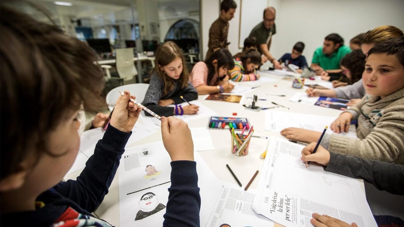 Així han dibuixat l'ARA els nens i nenes de Figueres