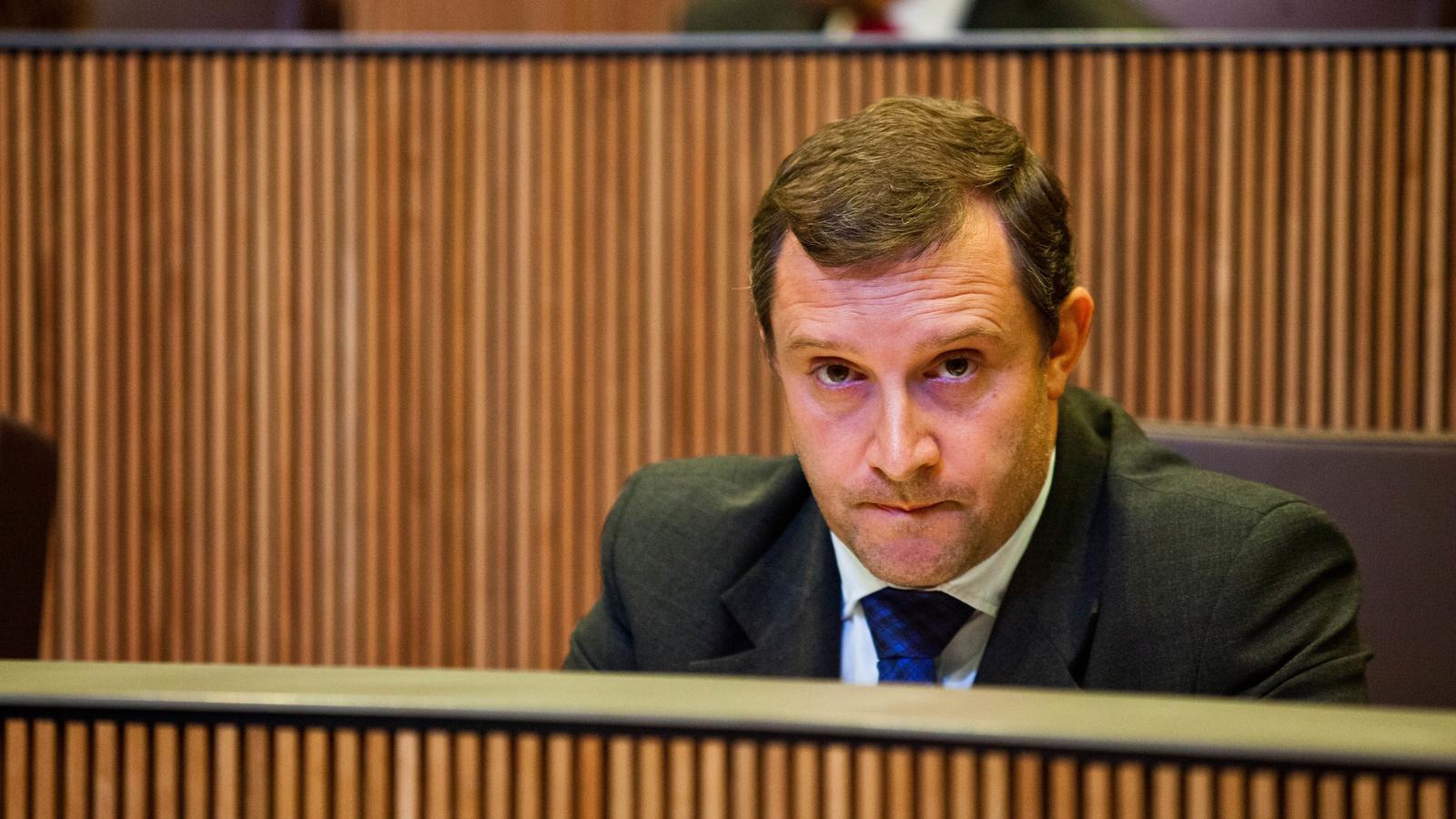 El conseller general del Grup Parlamentari Liberal, Josep Majoral. / Liberals