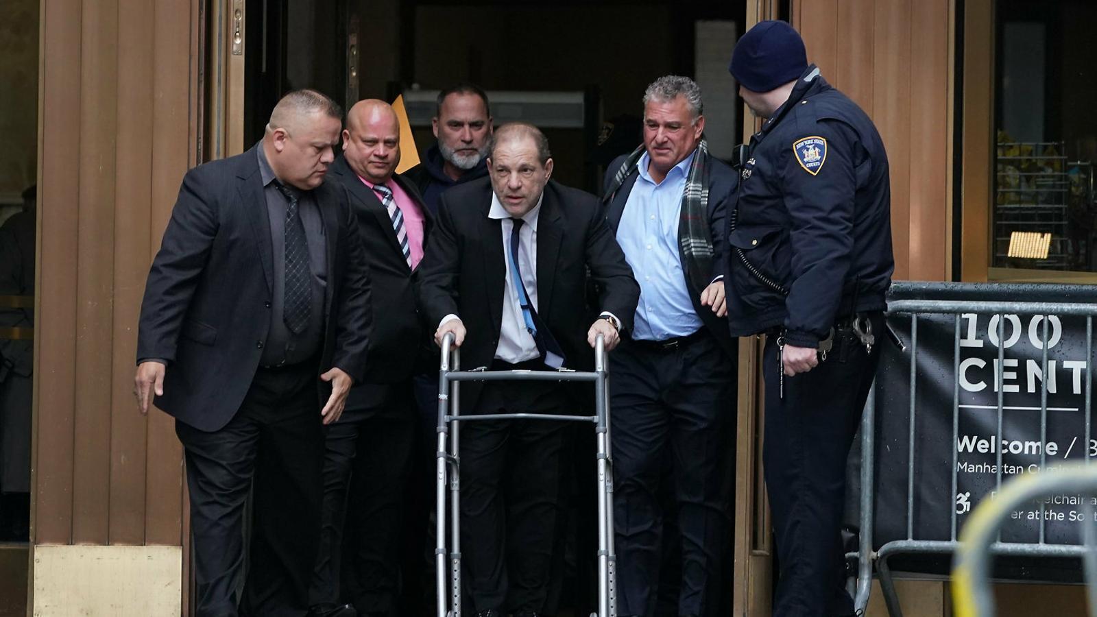 Harvey Weinstein, condemnat a 23 anys de presó