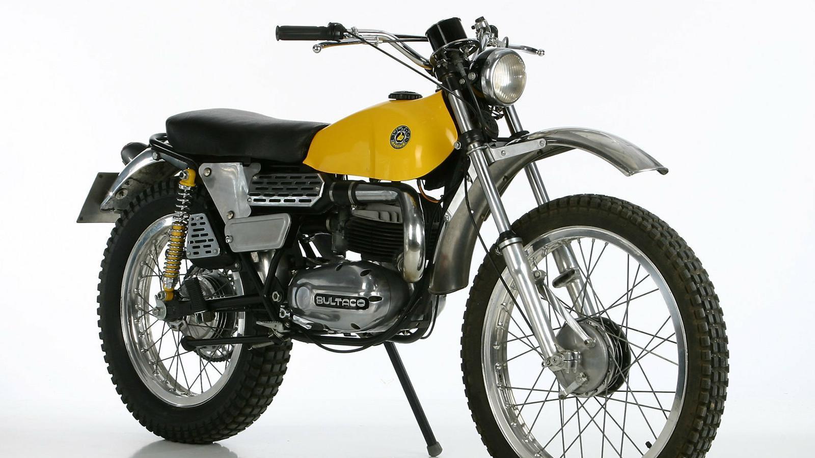 Les motos  de la nostra vida Bultaco Lobito: ho petava tot