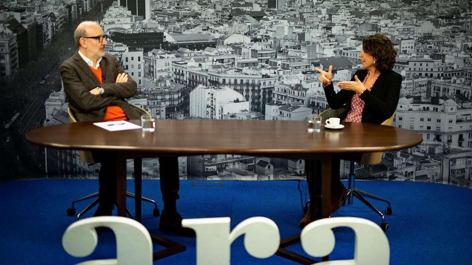 Entrevista d'Antoni Bassas a Lídia Heredia