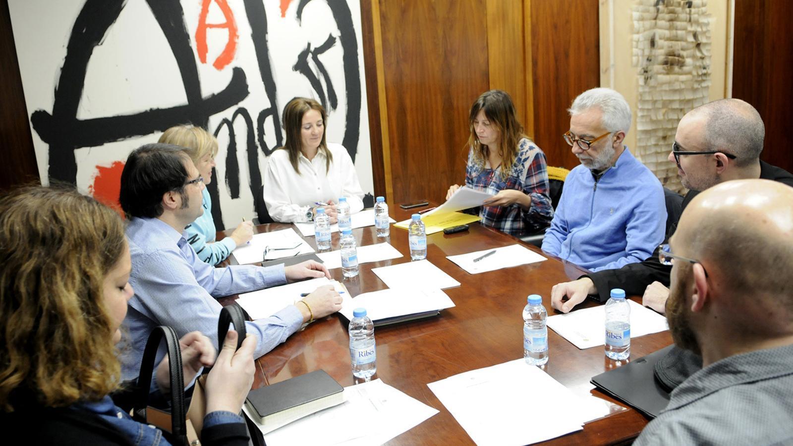Reunió d'aquest divendres del Consell Assessor de Patrimoni / SFG