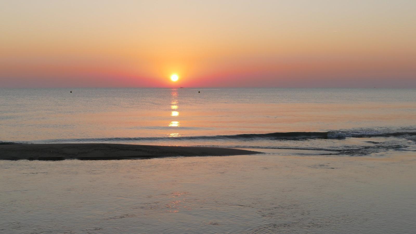 El mar està 2 graus més calent que els últims anys