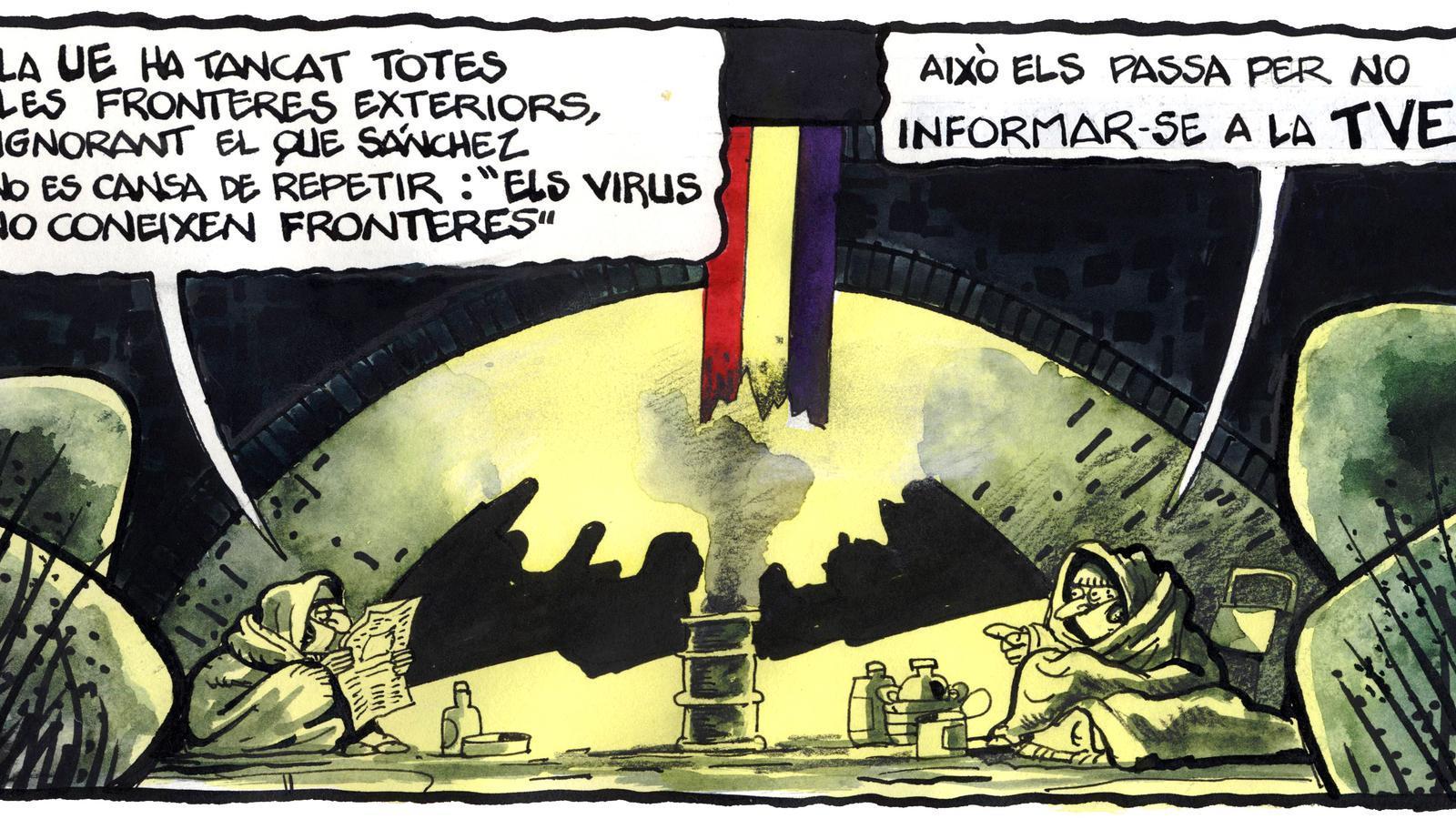 'A la contra', per Ferreres 21/03/2020