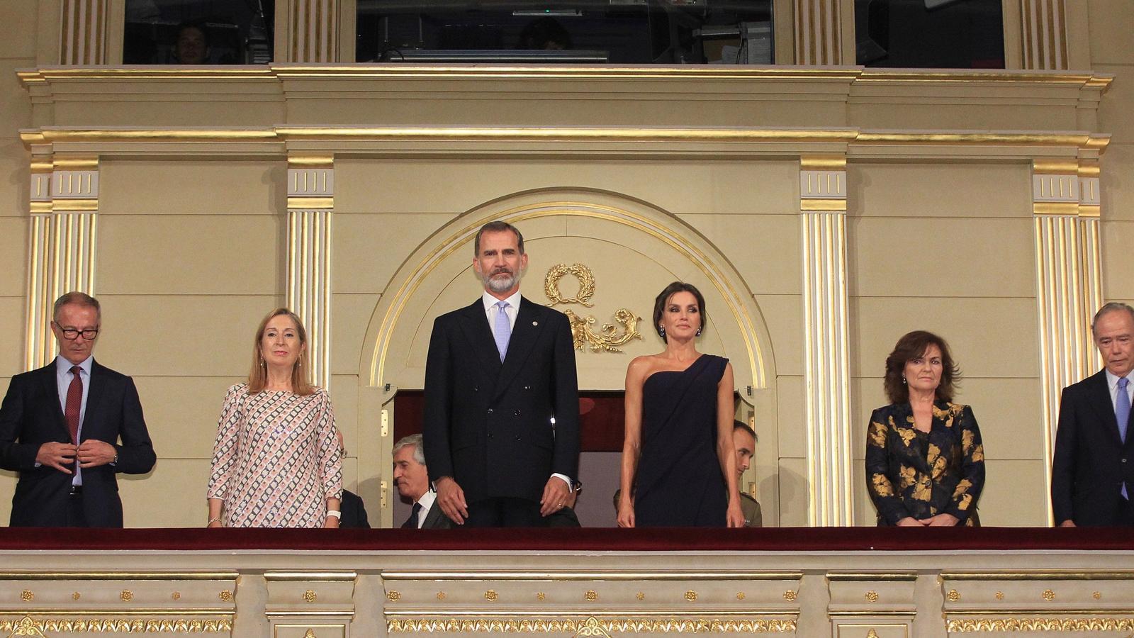 Els Reis al Teatro Real