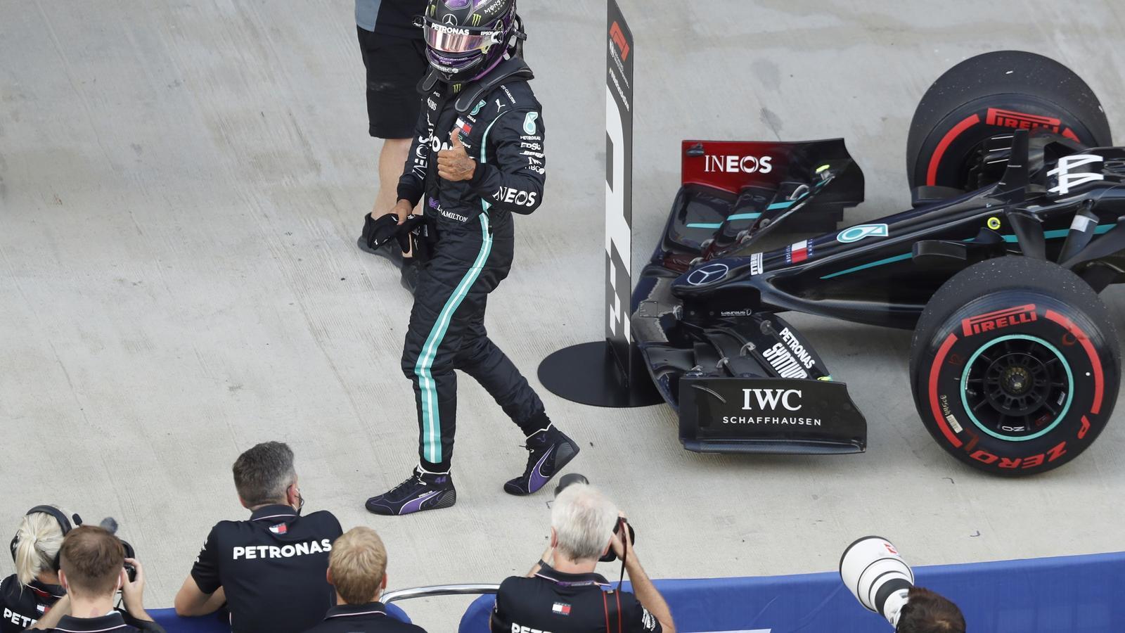 'Pole' 'in extremis' de Hamilton al GP de Rússia