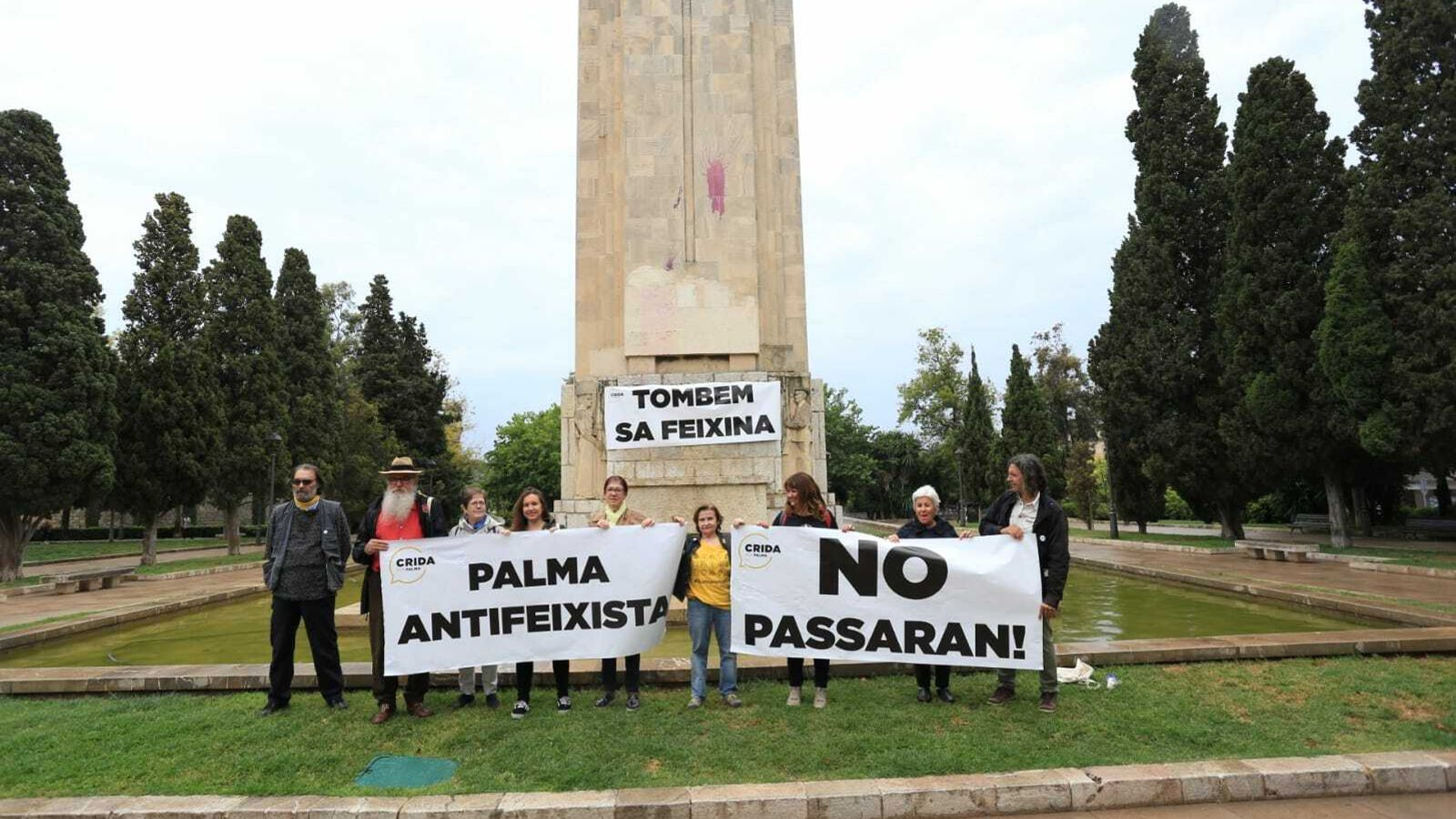 """La Crida per Palma promet esbucar el monument de la Feixina i """"cometre desobediència si fa falta"""""""