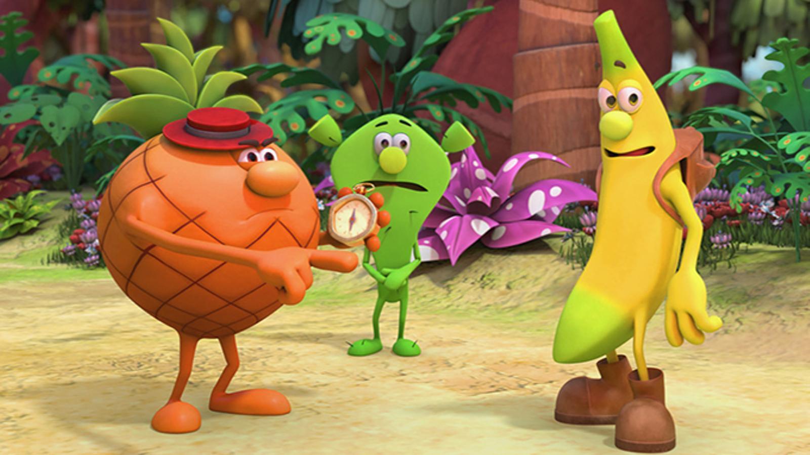 'Els Fruittis' tornaran a la televisió amb episodis en 3D