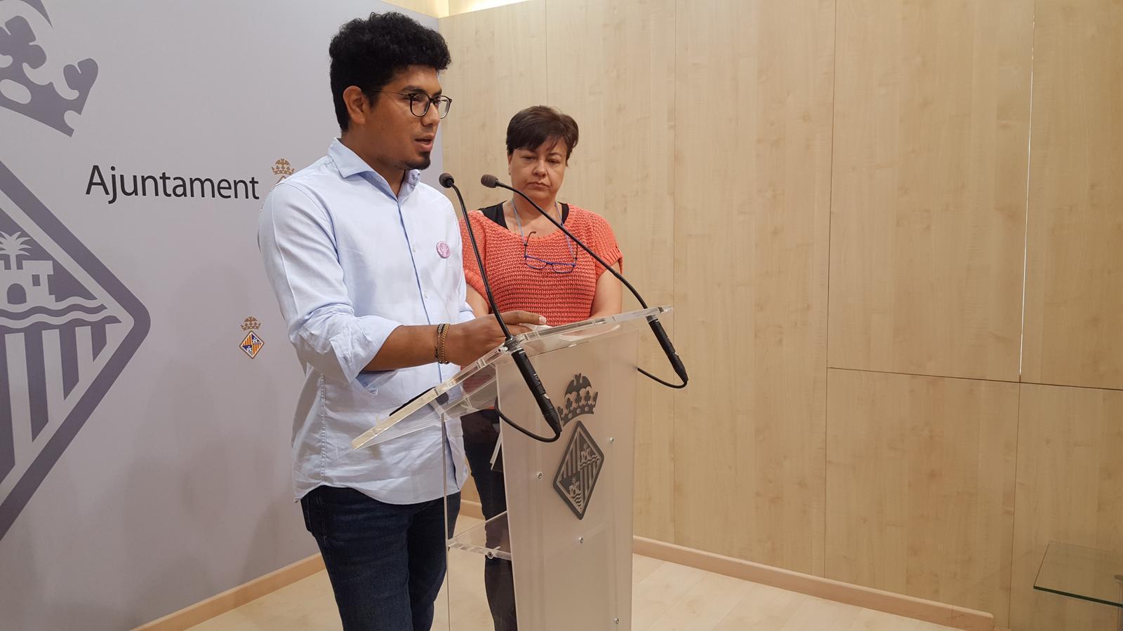 El regidor d'Igualtat, Aligi Molina