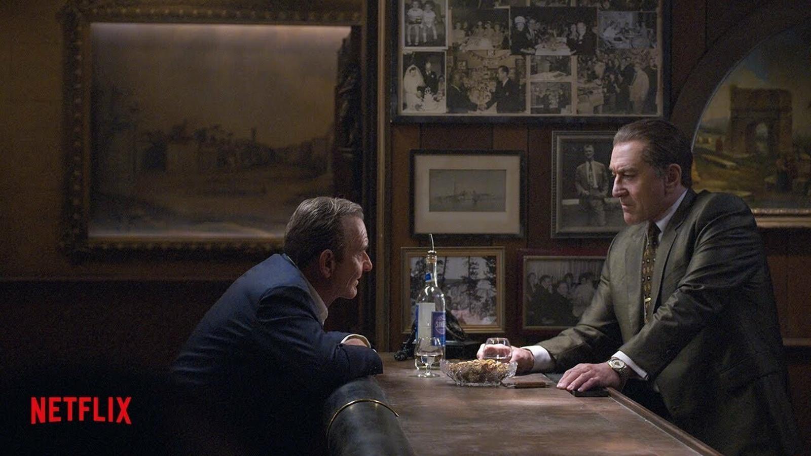 Primer tràiler d''El irlandés', el retorn de Martin Scorsese a l'univers de la màfia