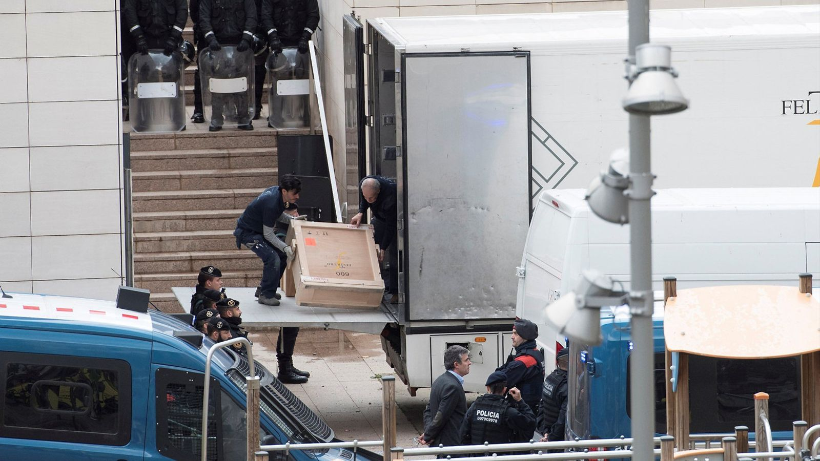 """L'ICOM Espanya desaprova """"la insòlita entrada policial"""" al Museu de Lleida per emportar-se els béns de Sixena"""