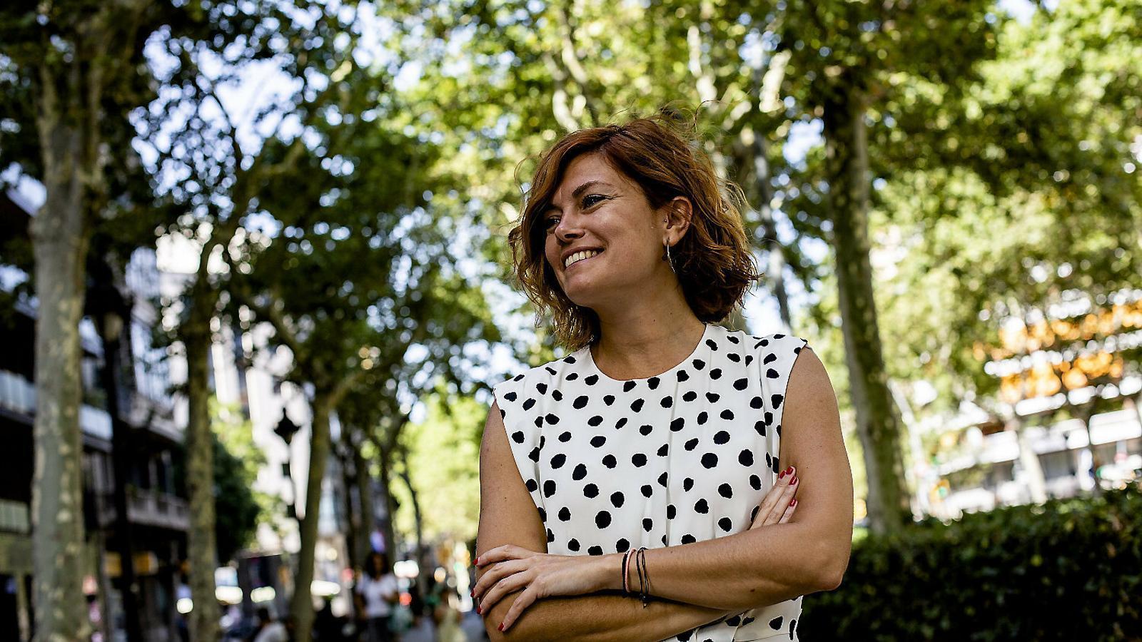 """Elisenda Alamany: """"Alguns ja dèiem que els comuns s'allunyaven dels valors originals"""""""