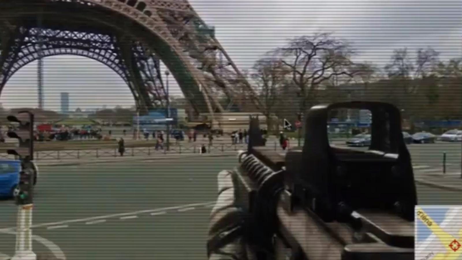 Un passeig armat per Street View
