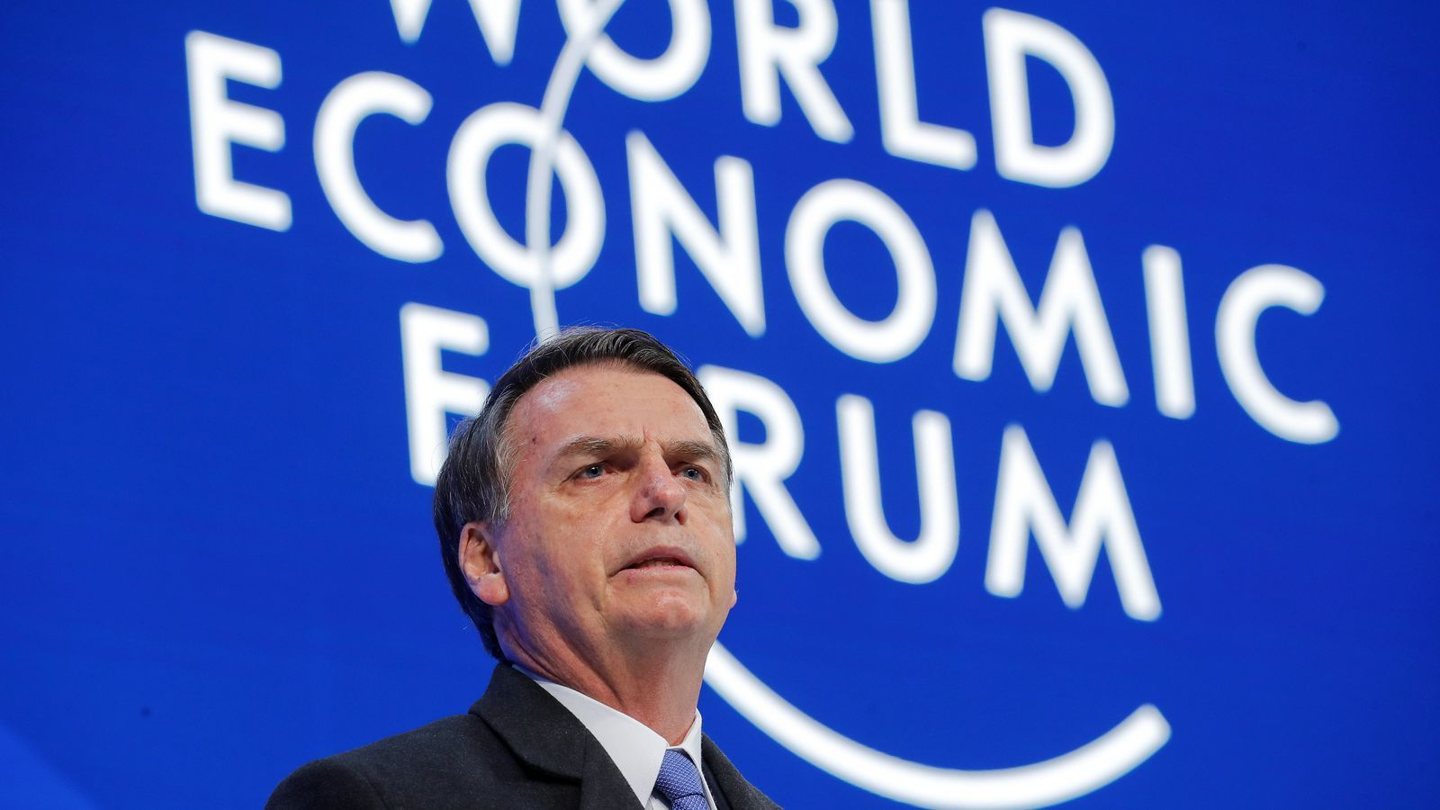 Bolsonaro debuta com a líder internacional amb la promesa d'obrir l'economia brasilera